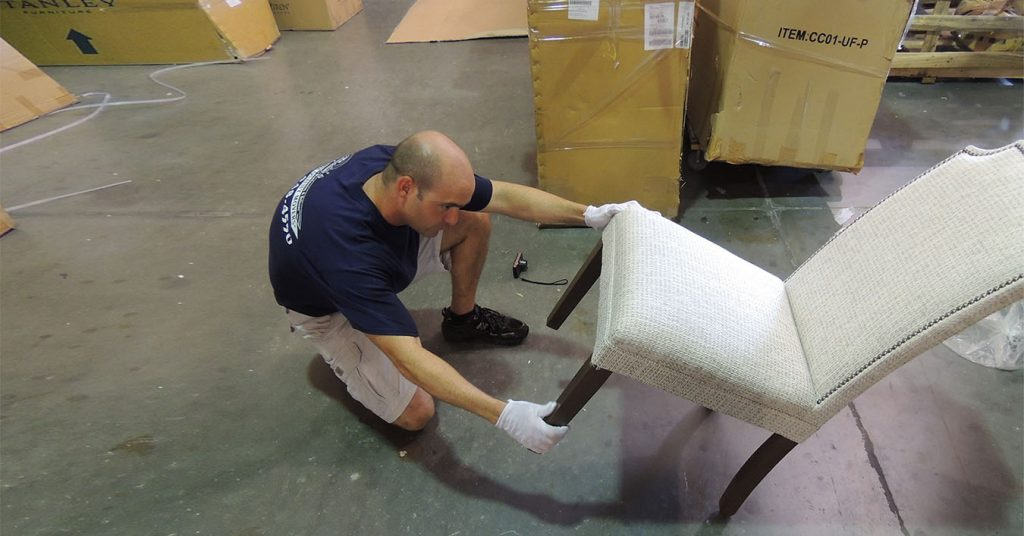 Designer Receiving and Delivery